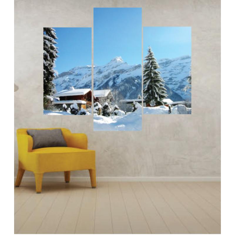 Wall Frames 3 Pieces Set Canvas – Digitally Printed Wall Canvas TJ-36