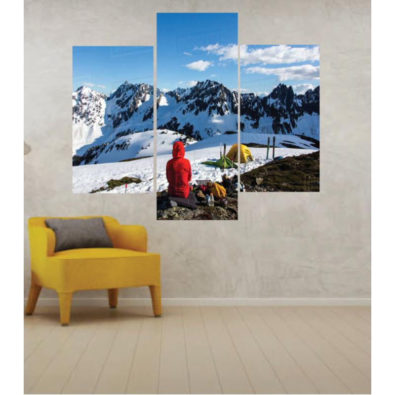 Wall Frames 3 Pieces Set Canvas – Digitally Printed Wall Canvas TJ-37