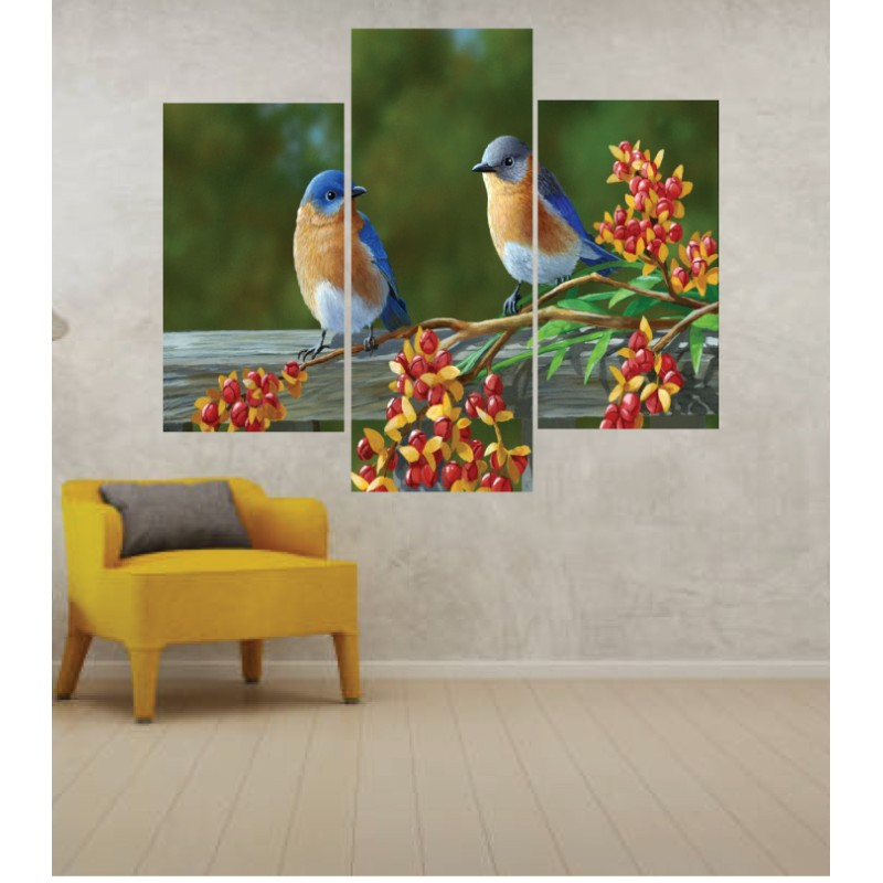 Wall Frames 3 Pieces Set Canvas – Digitally Printed Wall Canvas TJ-39