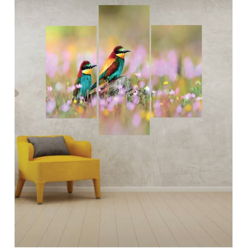 Wall Frames 3 Pieces Set Canvas – Digitally Printed Wall Canvas TJ-41