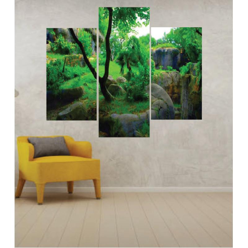 Wall Frames 3 Pieces Set Canvas – Digitally Printed Wall Canvas TJ-42