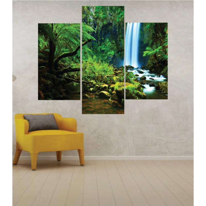 Wall Frames 3 Pieces Set Canvas – Digitally Printed Wall Canvas TJ-43