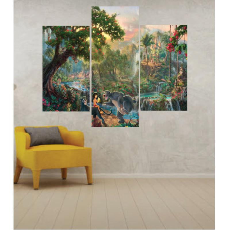 Wall Frames 3 Pieces Set Canvas – Digitally Printed Wall Canvas TJ-45