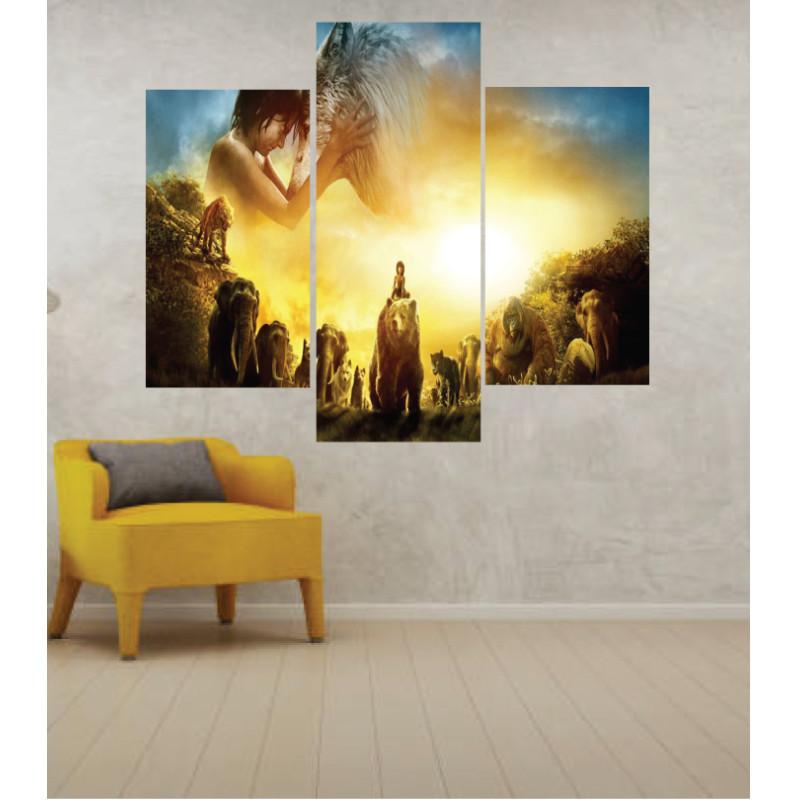 Wall Frames 3 Pieces Set Canvas – Digitally Printed Wall Canvas TJ-46