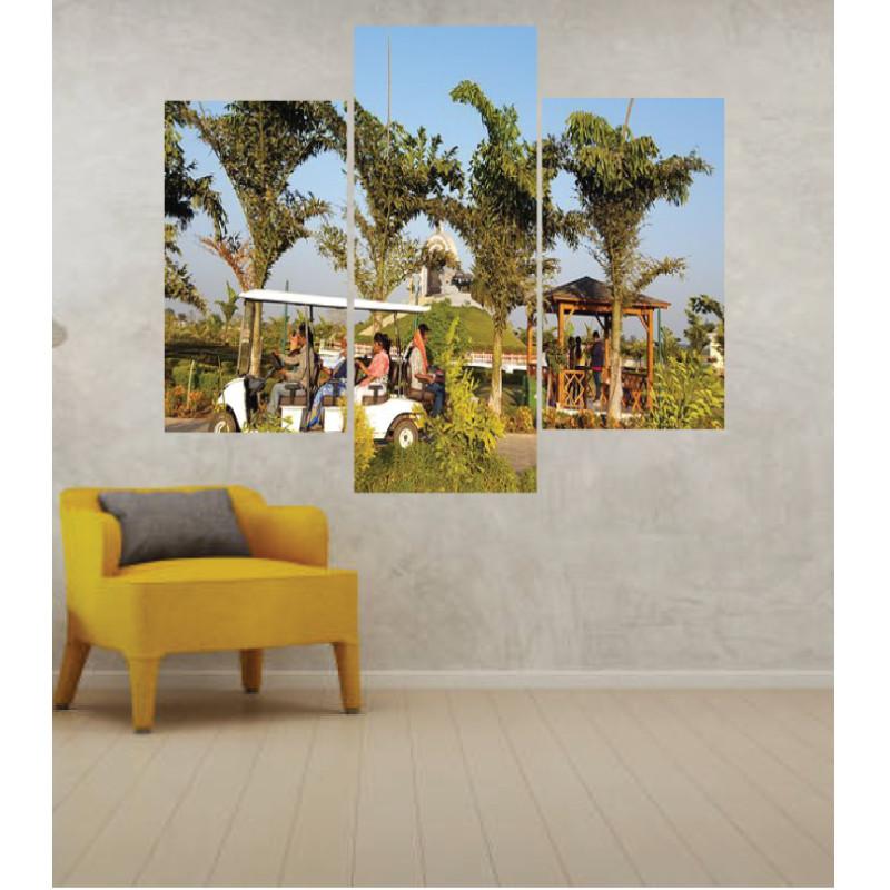 Wall Frames 3 Pieces Set Canvas – Digitally Printed Wall Canvas TJ-48