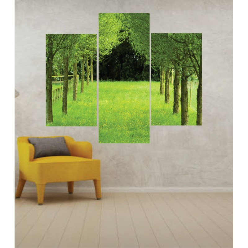 Wall Frames 3 Pieces Set Canvas – Digitally Printed Wall Canvas TJ-49