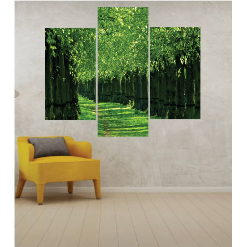 Wall Frames 3 Pieces Set Canvas – Digitally Printed Wall Canvas TJ-50
