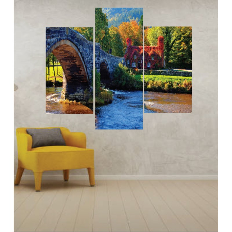 Wall Frames 3 Pieces Set Canvas – Digitally Printed Wall Canvas TJ-51