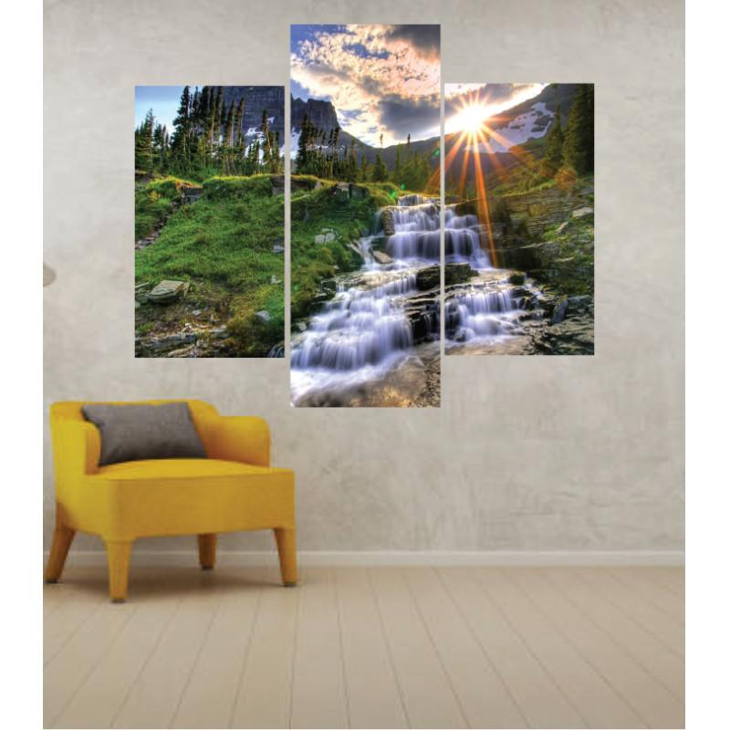 Wall Frames 3 Pieces Set Canvas – Digitally Printed Wall Canvas TJ-56