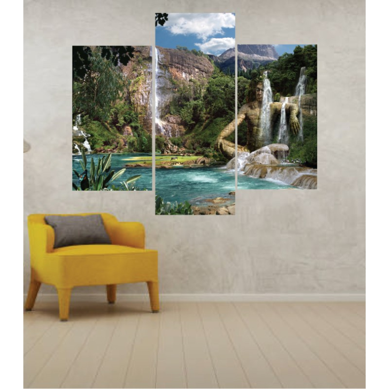 Wall Frames 3 Pieces Set Canvas – Digitally Printed Wall Canvas TJ-57