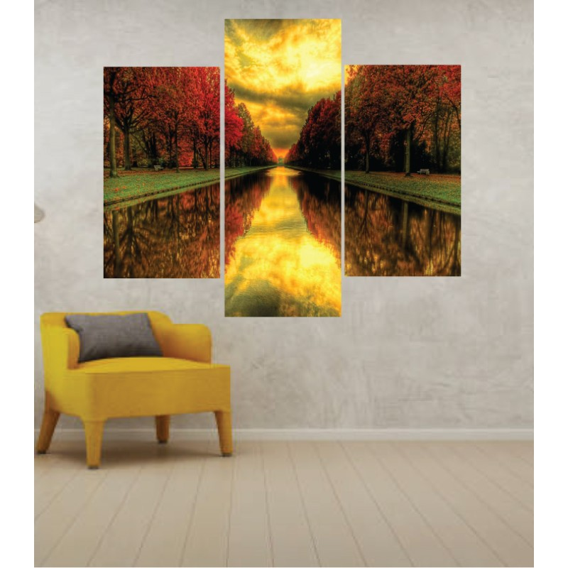 Wall Frames 3 Pieces Set Canvas – Digitally Printed Wall Canvas TJ-58