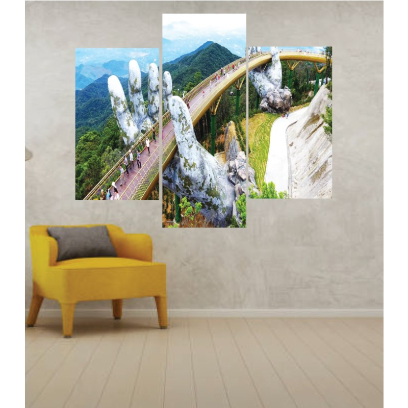 Wall Frames 3 Pieces Set Canvas – Digitally Printed Wall Canvas TJ-59