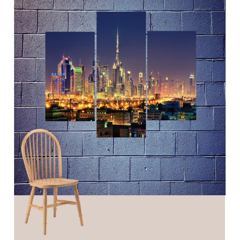 Wall Frames 3 Pieces Set Canvas – Digitally Printed Wall Canvas TJ-63