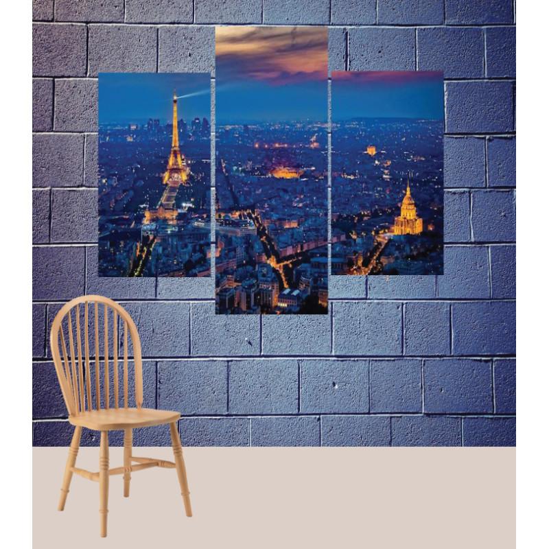 Wall Frames 3 Pieces Set Canvas – Digitally Printed Wall Canvas TJ-64