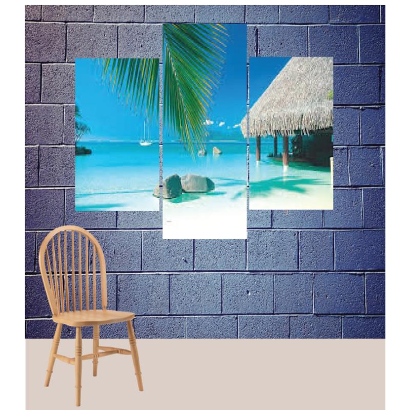 Wall Frames 3 Pieces Set Canvas – Digitally Printed Wall Canvas TJ-80
