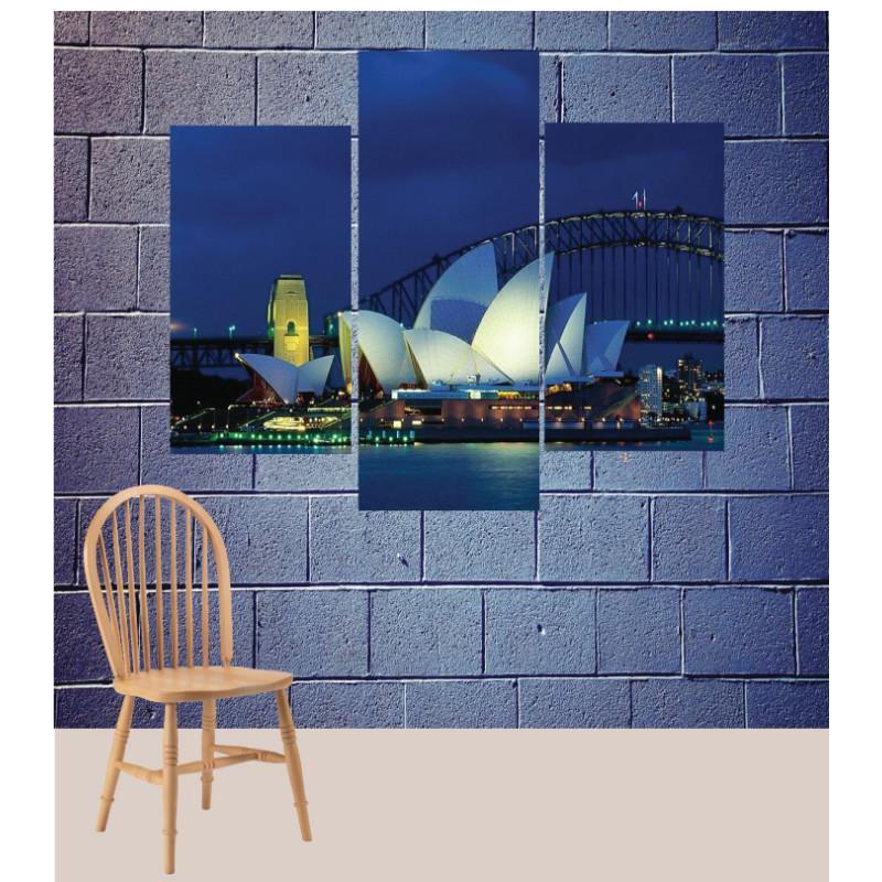 Wall Frames 3 Pieces Set Canvas – Digitally Printed Wall Canvas TJ-87