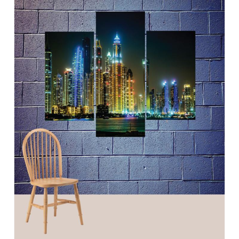 Wall Frames 3 Pieces Set Canvas – Digitally Printed Wall Canvas TJ-94